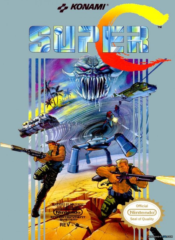 Super C -- Box Art