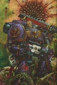 Warhammer 40k The Emperor's Might Art Book 18