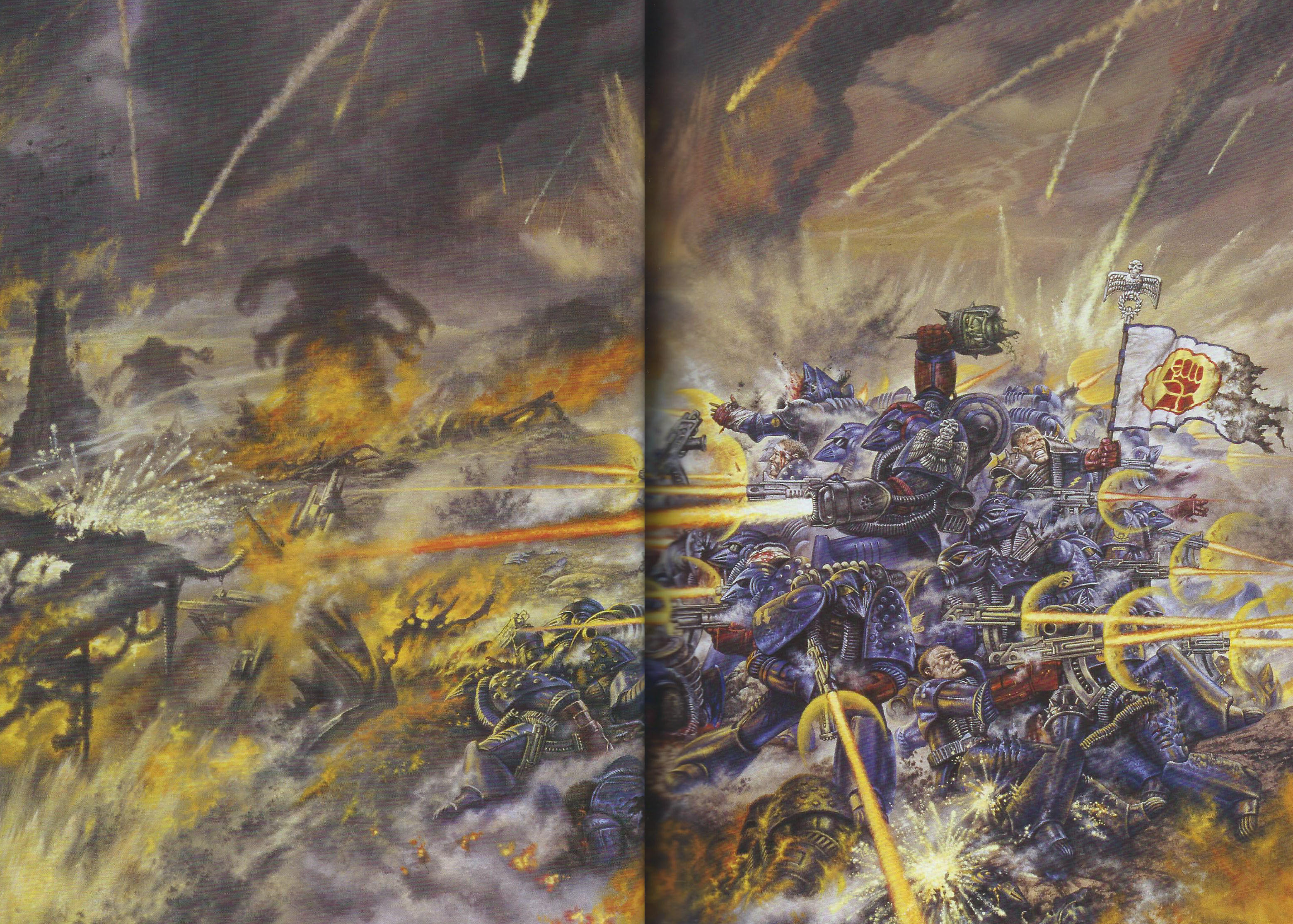 Warhammer 40k The Emperor's Might Art Book 2