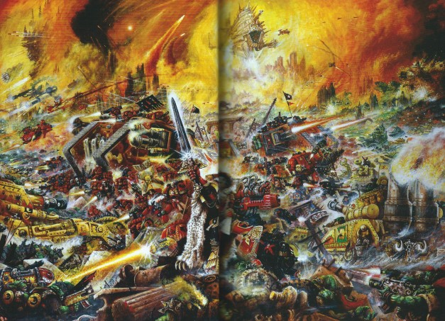 Warhammer 40k The Emperor's Might Art Book 3
