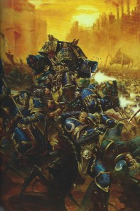 Warhammer 40k The Emperor's Might Art Book 9