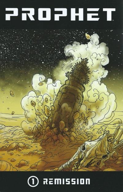 Prophet Remission -- Cover Art Simon Roy