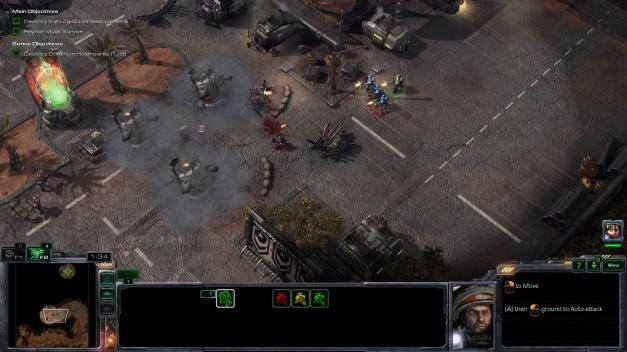 StarCraft II Wings of Liberty 1